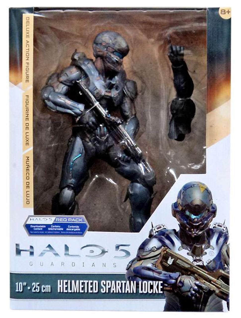 SPARTAN LOCKE Guardians Deluxe Figure Halo 5 McFarlane Toys Action Figure