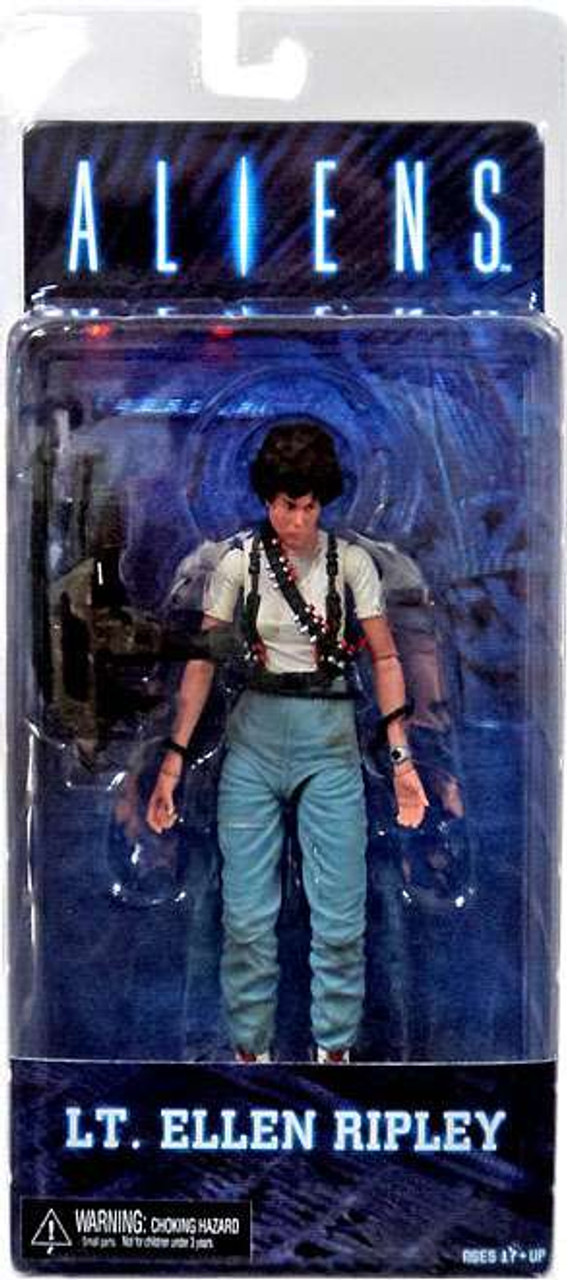 NECA Lt Ellen Ripley Alien Day Space Marine 100/% Authentic Aliens Xenomorph