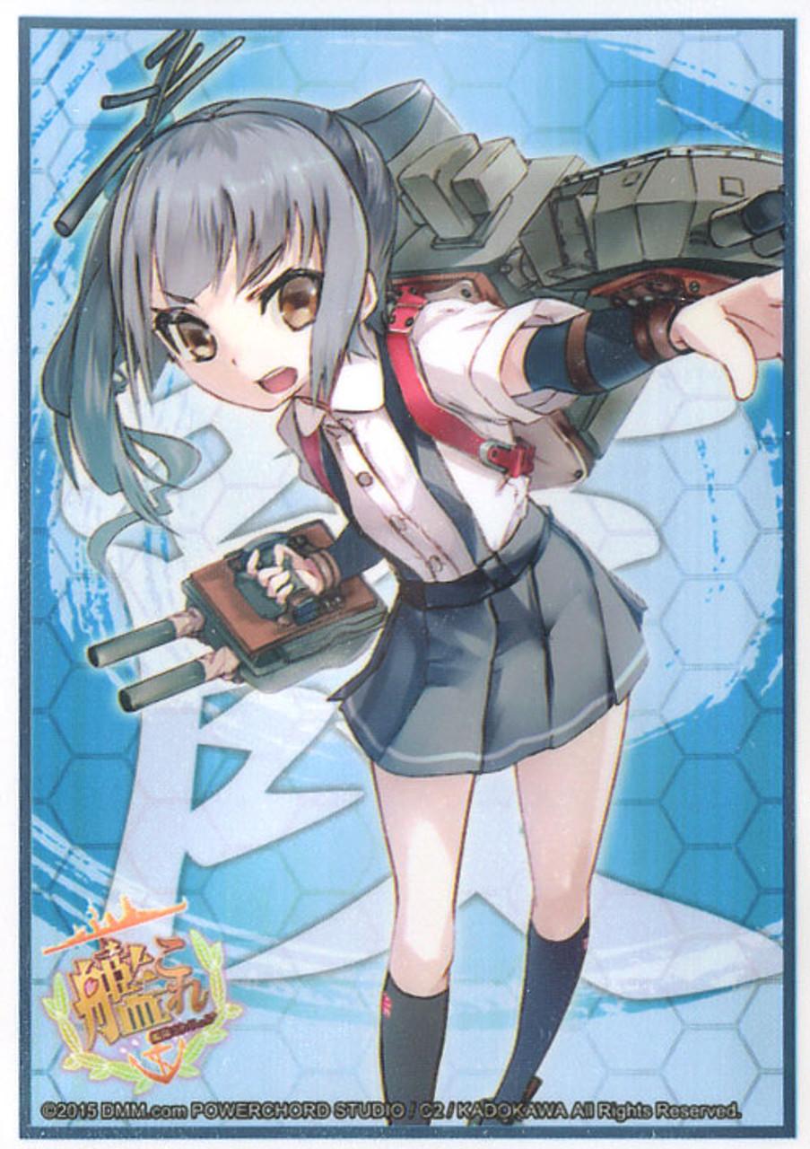 BushiRoad Weiss Schwarz Kantai Collection Card Supplies Abukuma Card Sleeves #838 60 ct