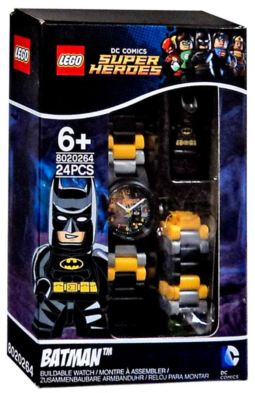 4e85daee397 LEGO DC Super Heroes Batman Buildable Watch Set 8020264 - ToyWiz