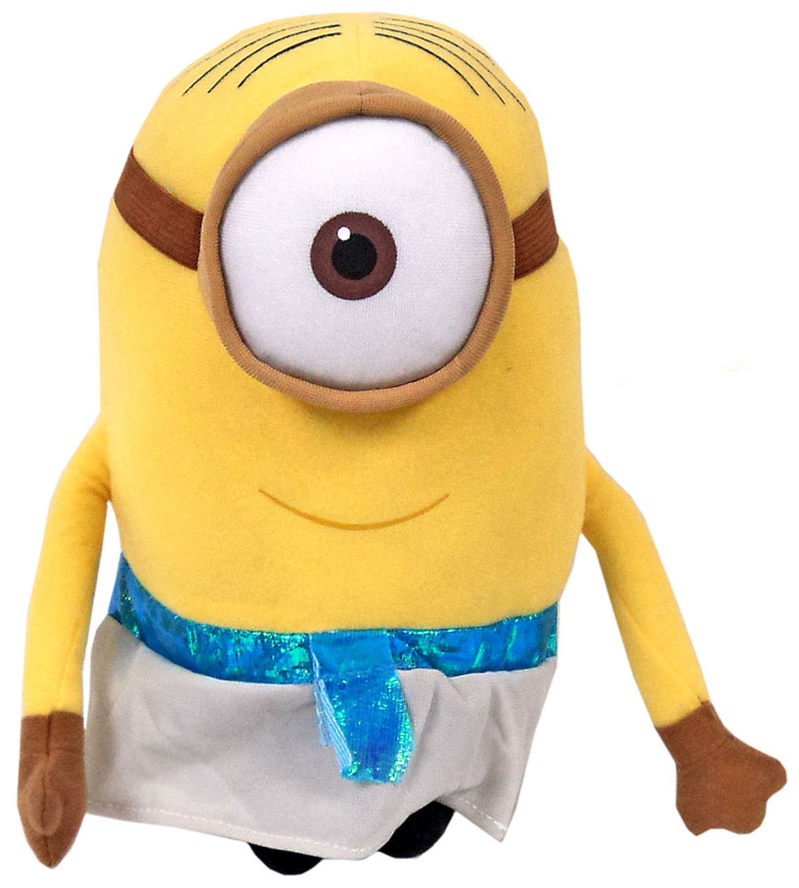 Despicable Me Minions Movie Egyptian Minion 9 Plush Figure Toy Factory - ToyWiz