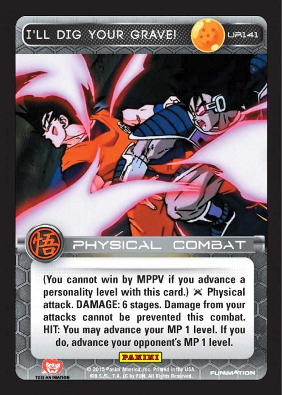 Dragonball Z DBZ Ccg Tcg Panini Ultra Rare Heroic Assistance UR141!