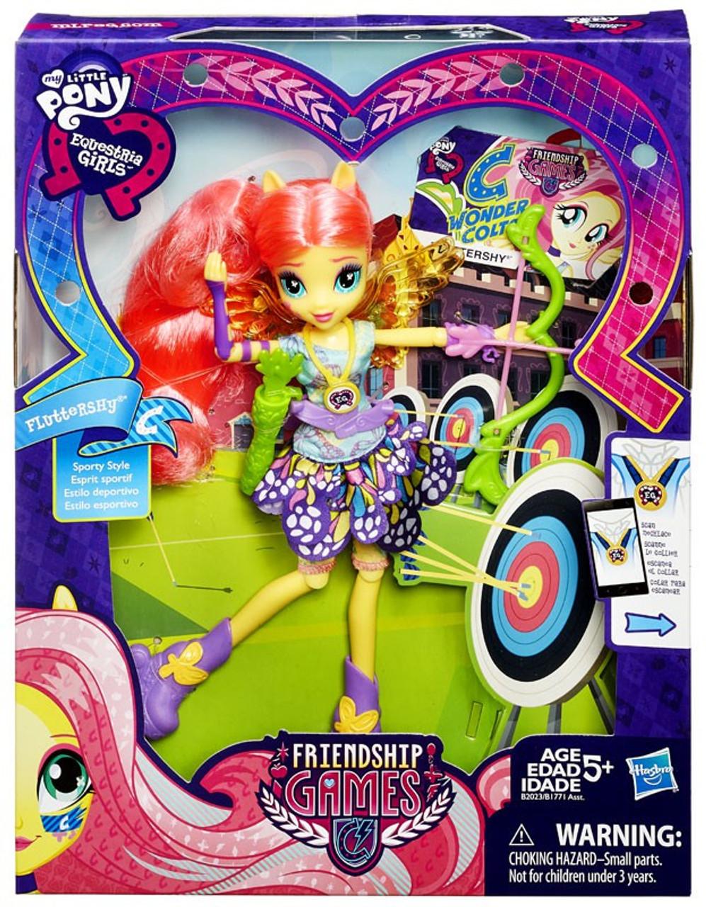 - My Little Pony Equestria Girls Friendship Games Fluttershy Doll