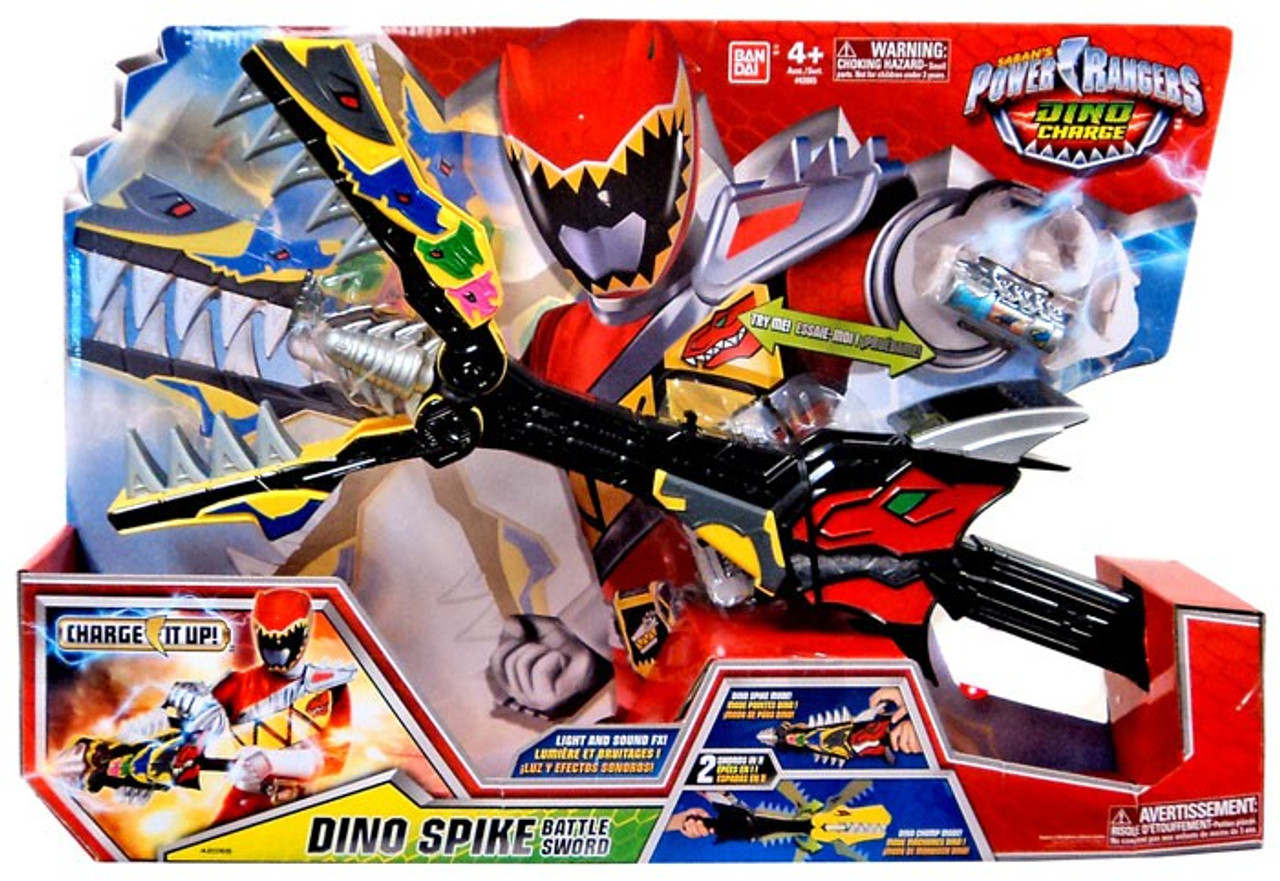 - Power Rangers Dino Charge Dino Spike Battle Sword Roleplay Toy