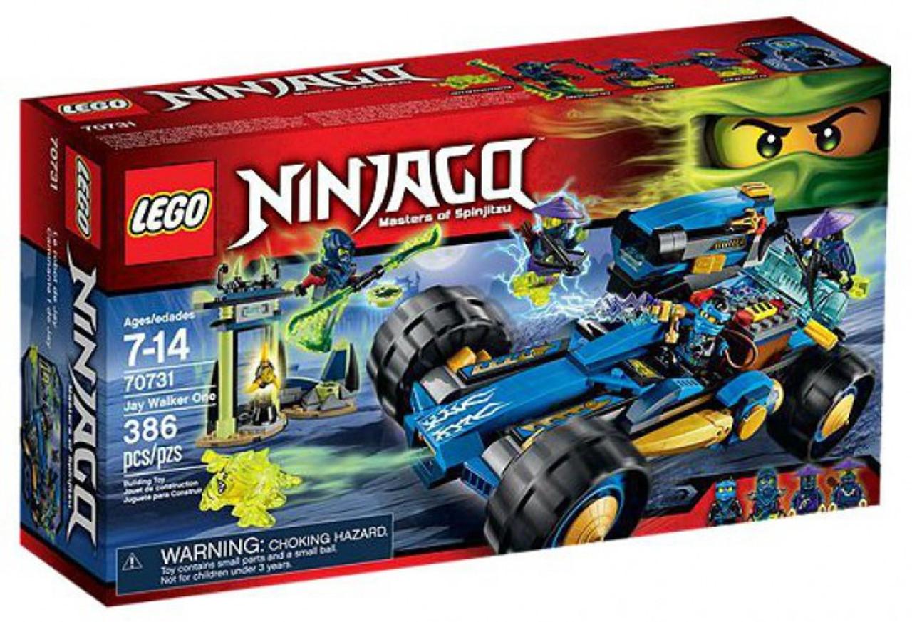 LEGO Ninjago Jay Walker One Set 70731 - ToyWiz