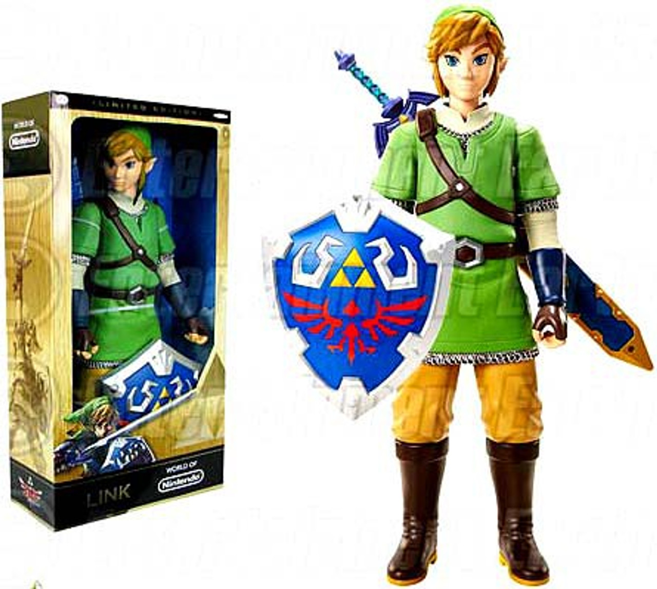 Skyward Sword Master Sword PVC Figure Collection Toy in Box The Legend of Zelda