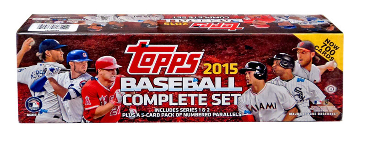Mlb 2015 Topps Baseball Cards Complete Set Hobby Edition