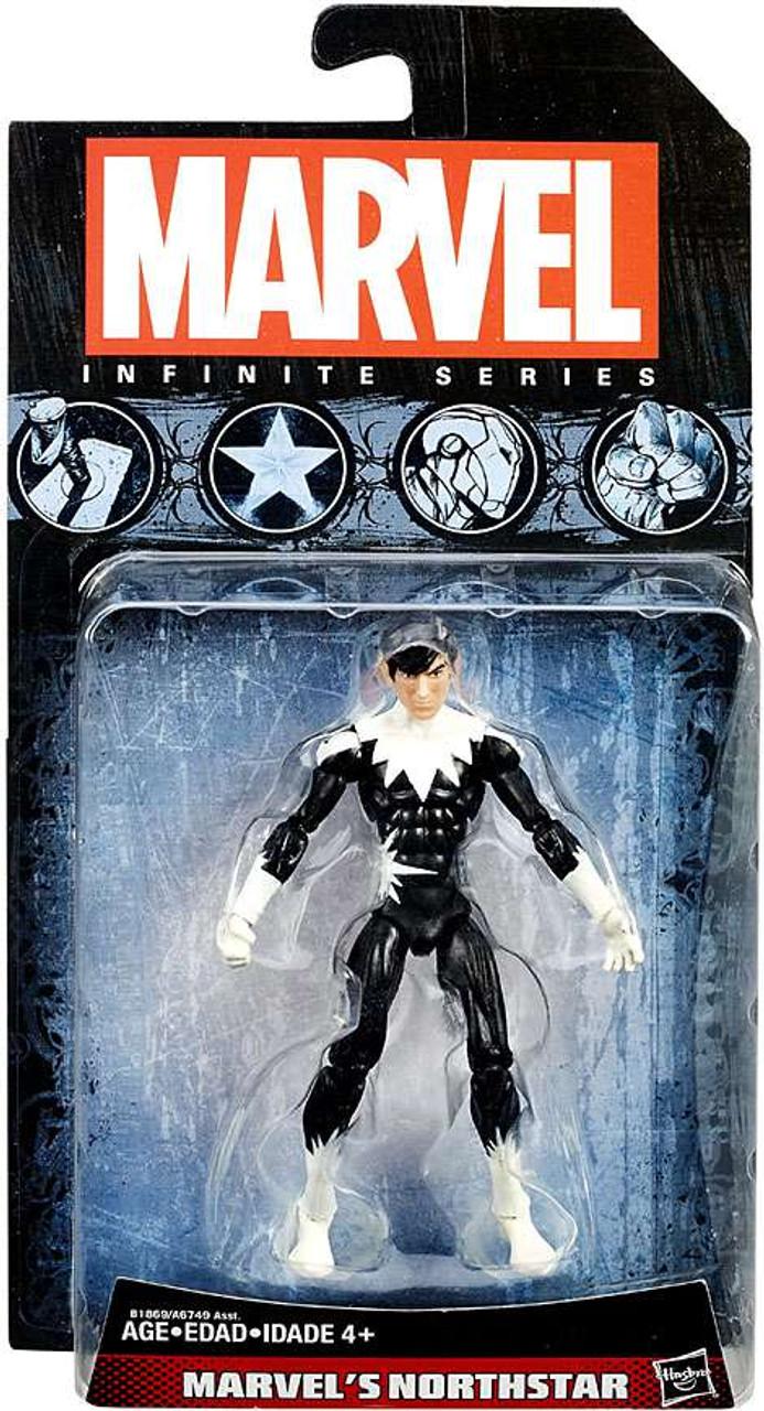 "Super Hero Comic Book Marvel Universe Figure 3-4/"" Northstar 3.75/"""