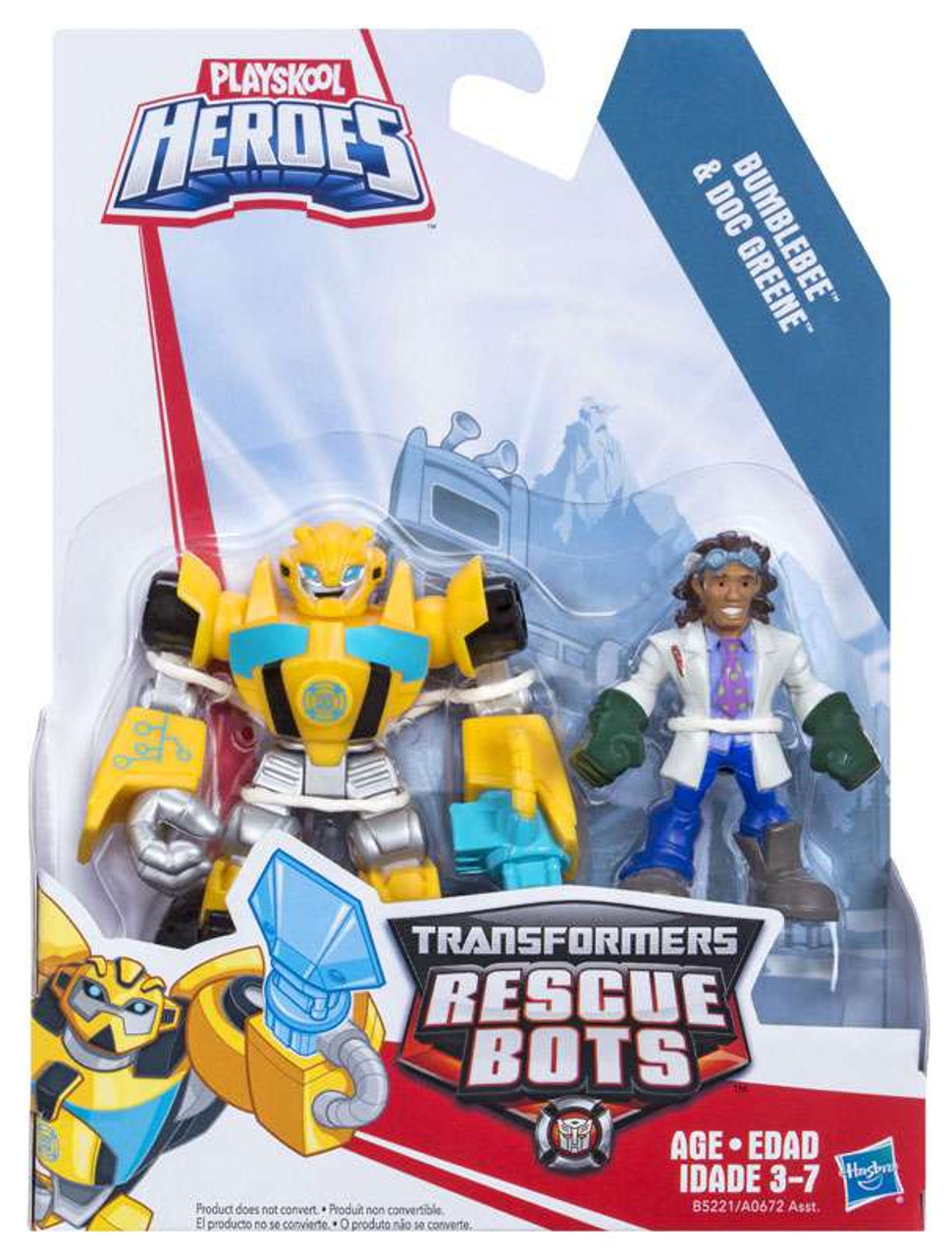 Transformers Rescue Bots Playskool Heroes Bumblebee Doc