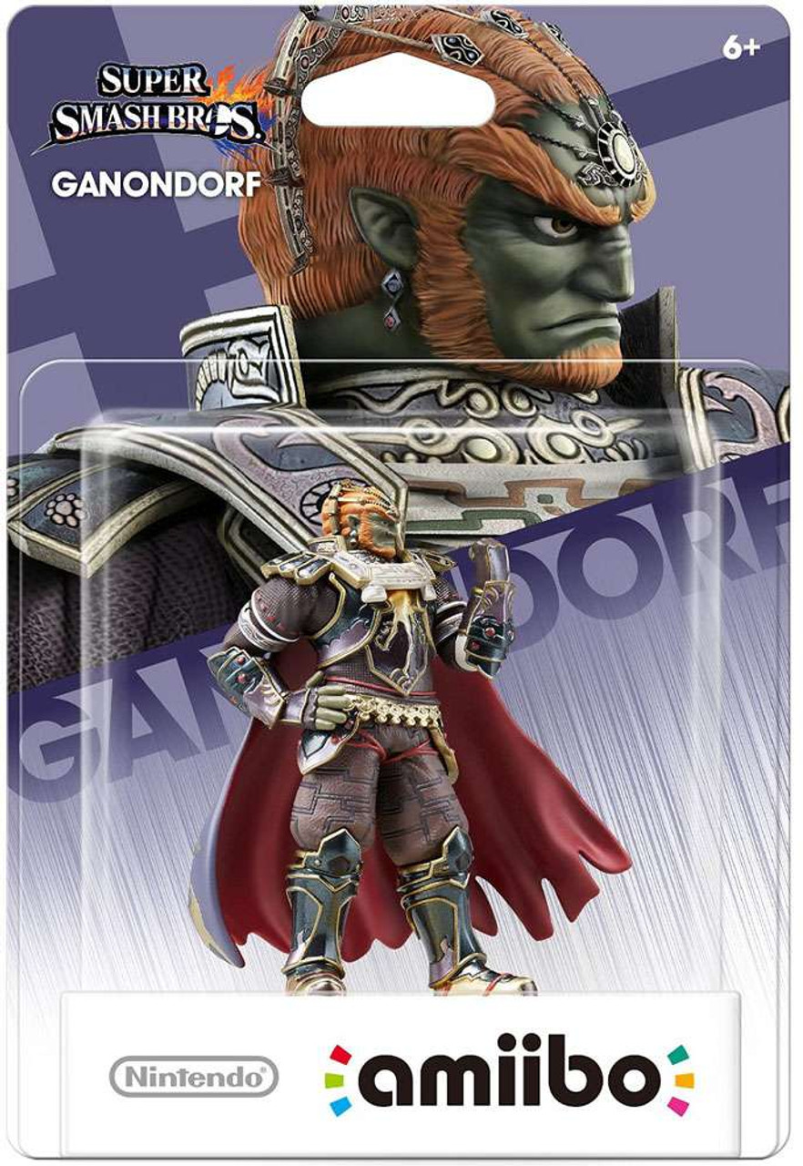 Nintendo Super Smash Bros Amiibo Ganondorf Mini Figure