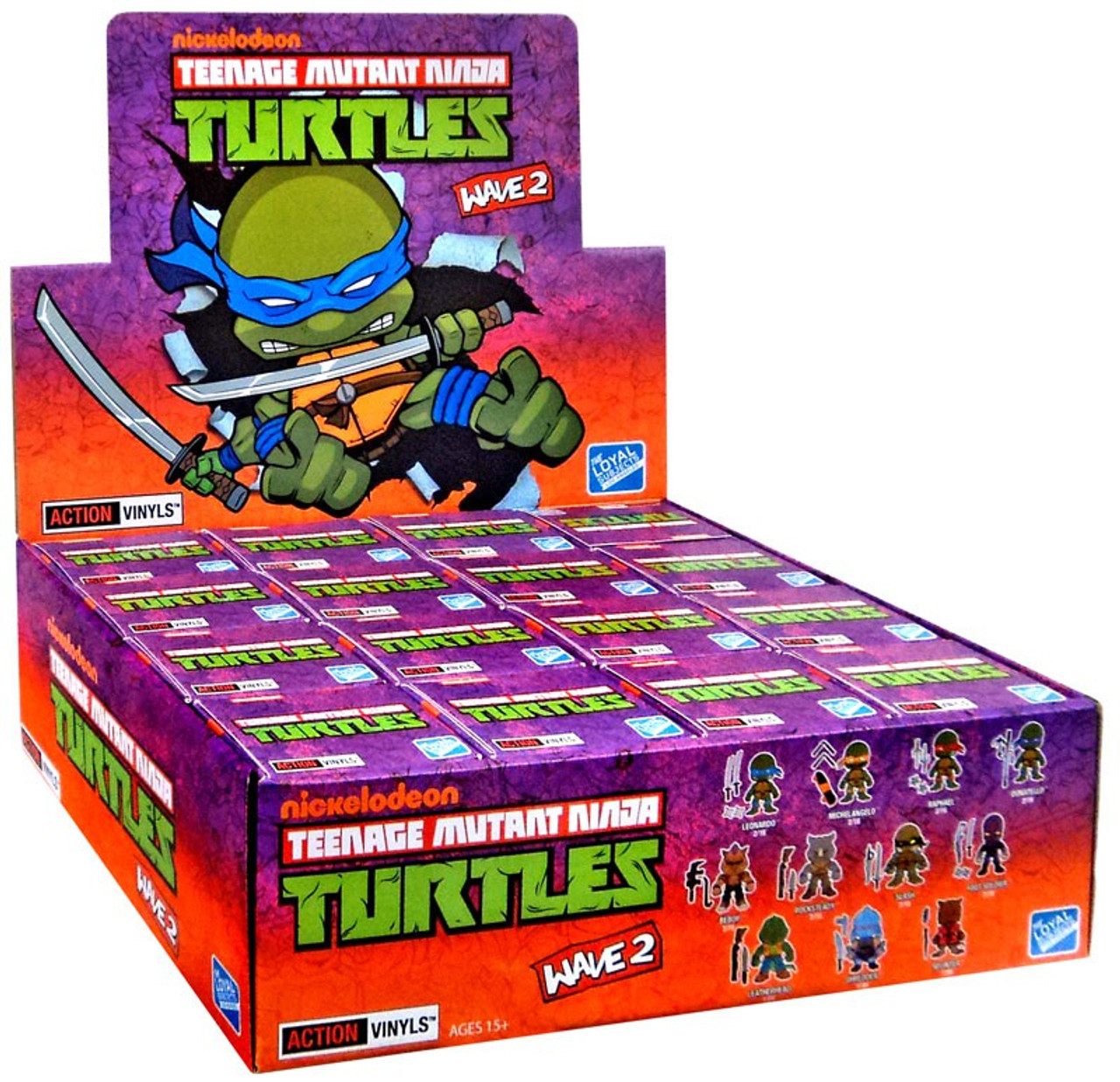 Teenage Mutant Ninja Turtles Blind Box 3 Action Vinyls Series 2 One Random