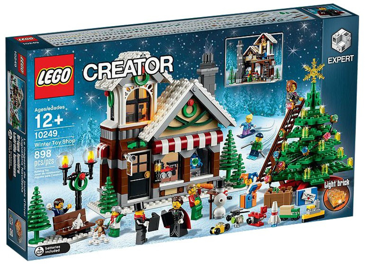 Lego Christmas.Lego Creator Christmas Winter Toy Shop Set 10249