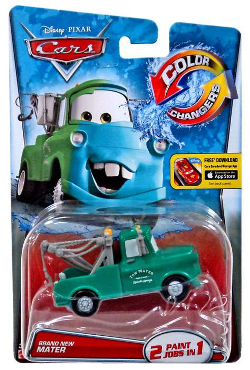 Disney Pixar Cars Color Changers Brand New Mater 155 Diecast Car 2015 Mattel Toys Toywiz