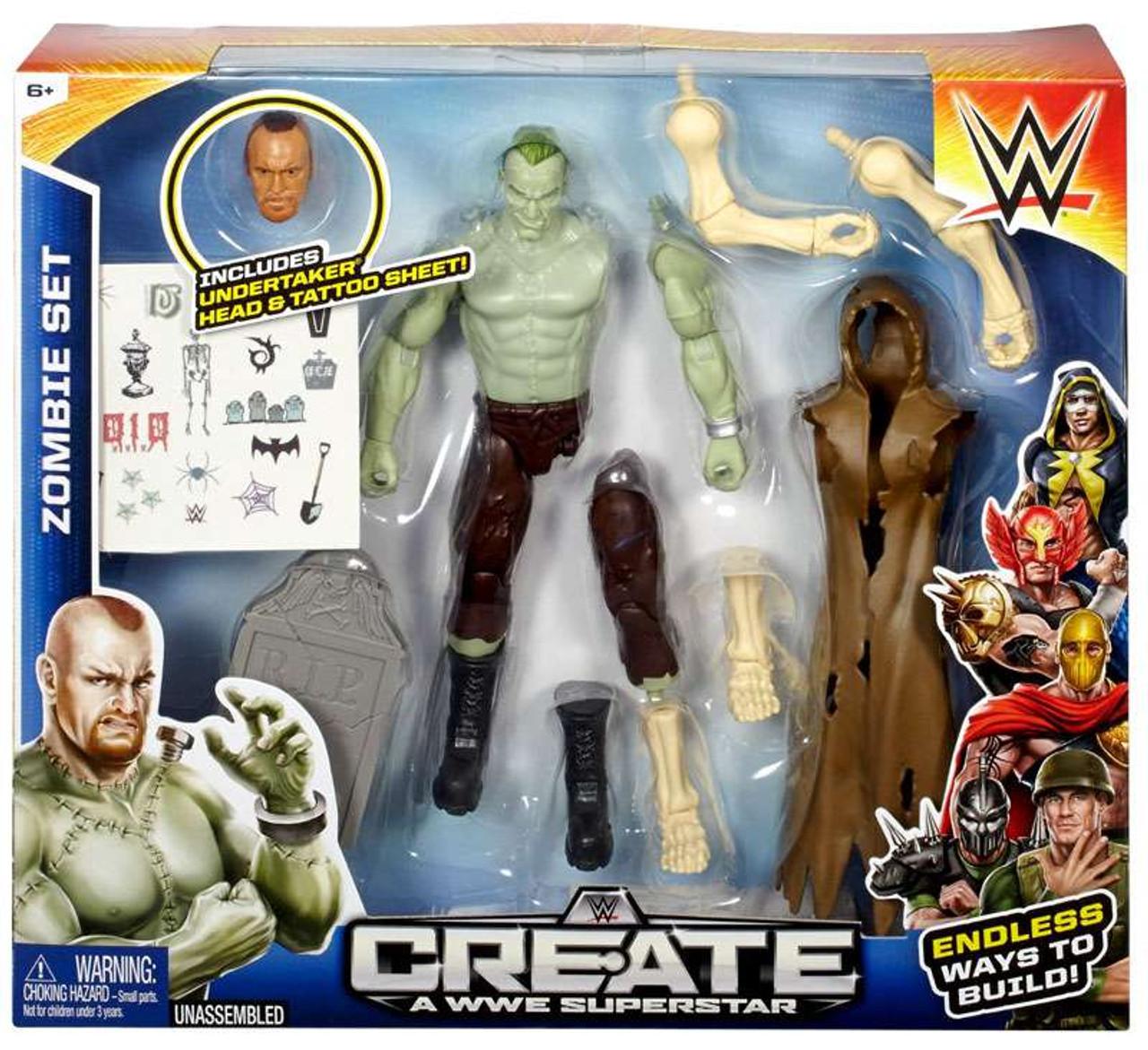 WWE Wrestling Create A Superstar Crime Fighter Pack for Figures NEW