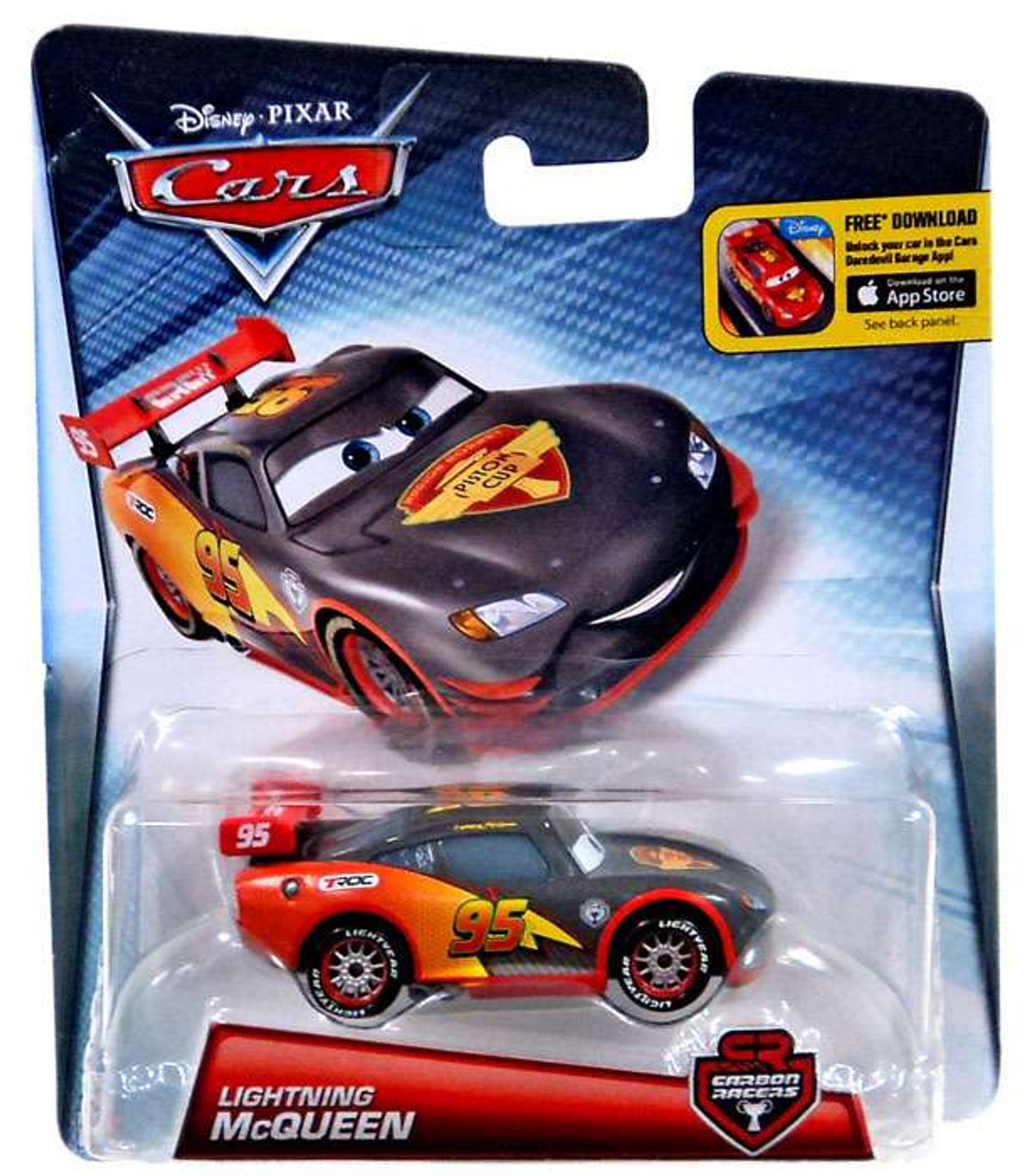 Disney Pixar Cars Carbon Racers Lightning McQueen 155