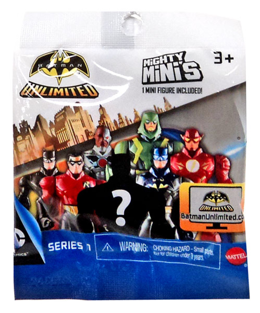 Batman Unlimited Mighty Minis Series 1 Batman Unlimited Mystery Pack
