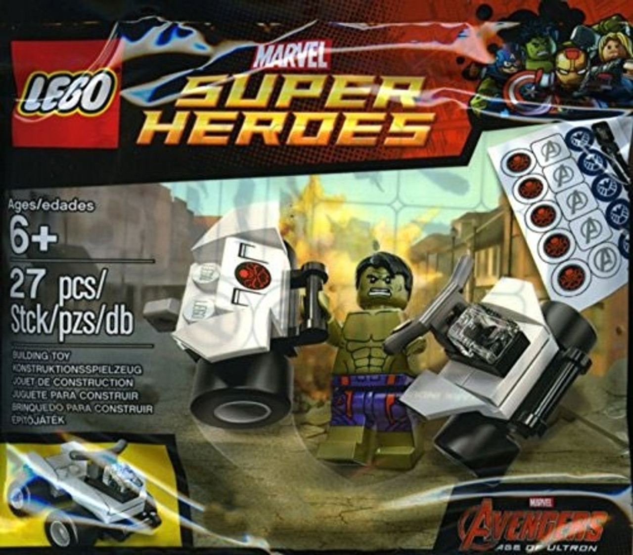 Marvel Avengers Ultron Set5003084bagged Age Mini Hulk Of Lego Exclusive eYW9E2DHI