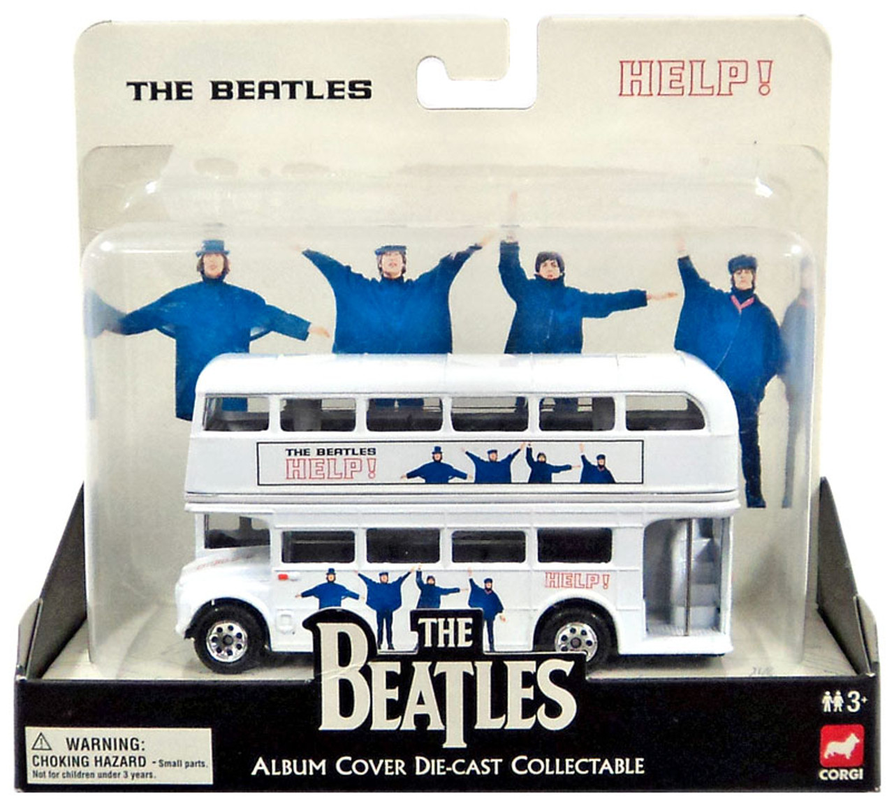 The Beatles Album Cover Collectable HELP Die-Cast Vehicle