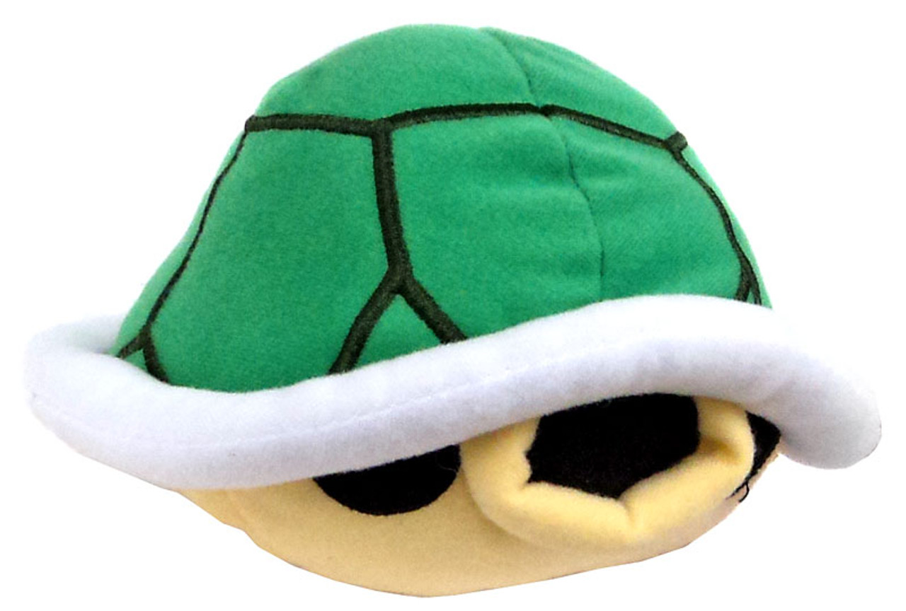 World of Nintendo Super Mario Turtle Shell 5-Inch Plush with Sound FX [SFX]