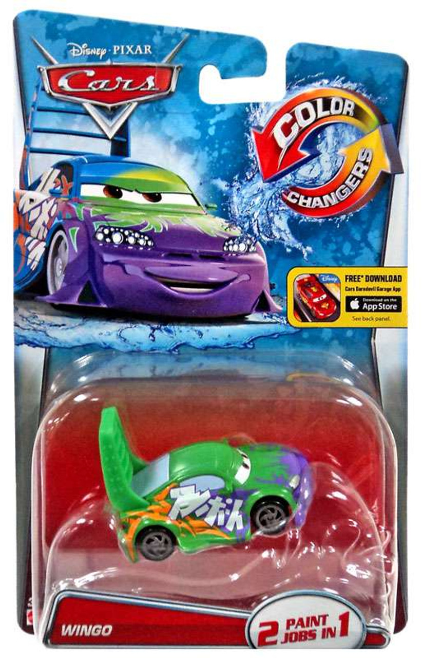 Disney Pixar Cars Color Changer Wingo Toy Vehicle New Free Shipping