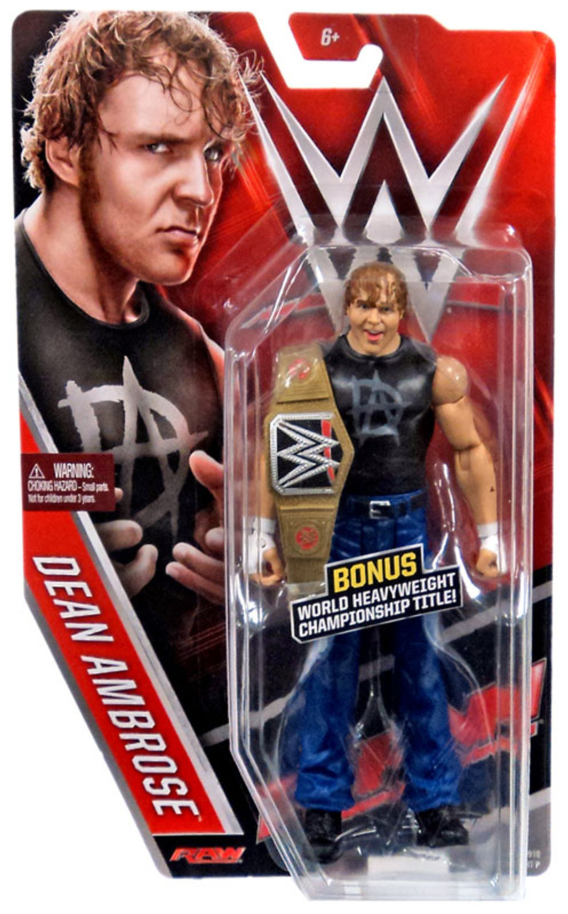 Dean Ambrose-base Signature Series-WWE Mattel Wrestling Figure