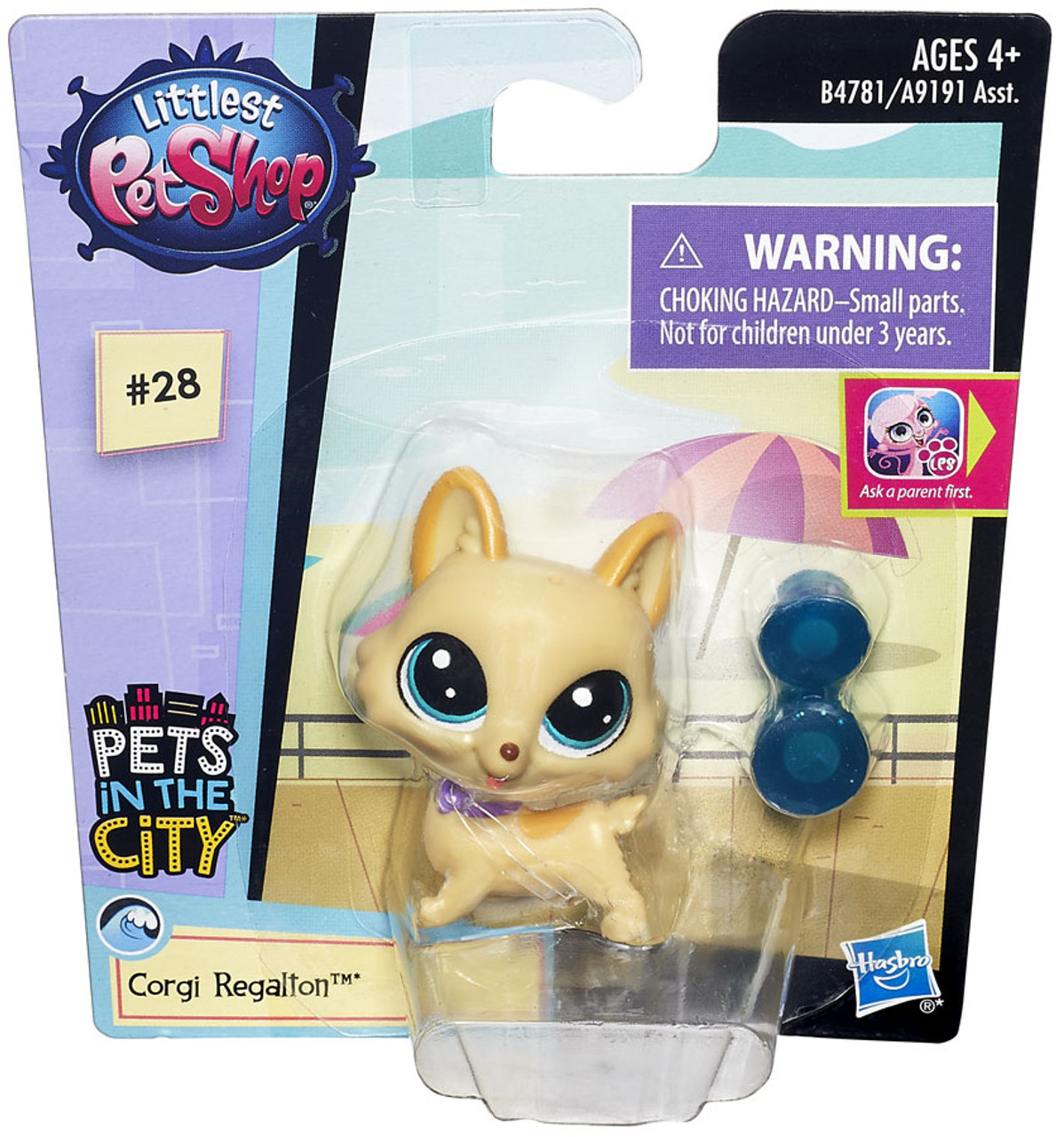 Corgi Lps Roblox Littlest Pet Shop Pets In The City Single Figure Corgi Regalton Toywiz