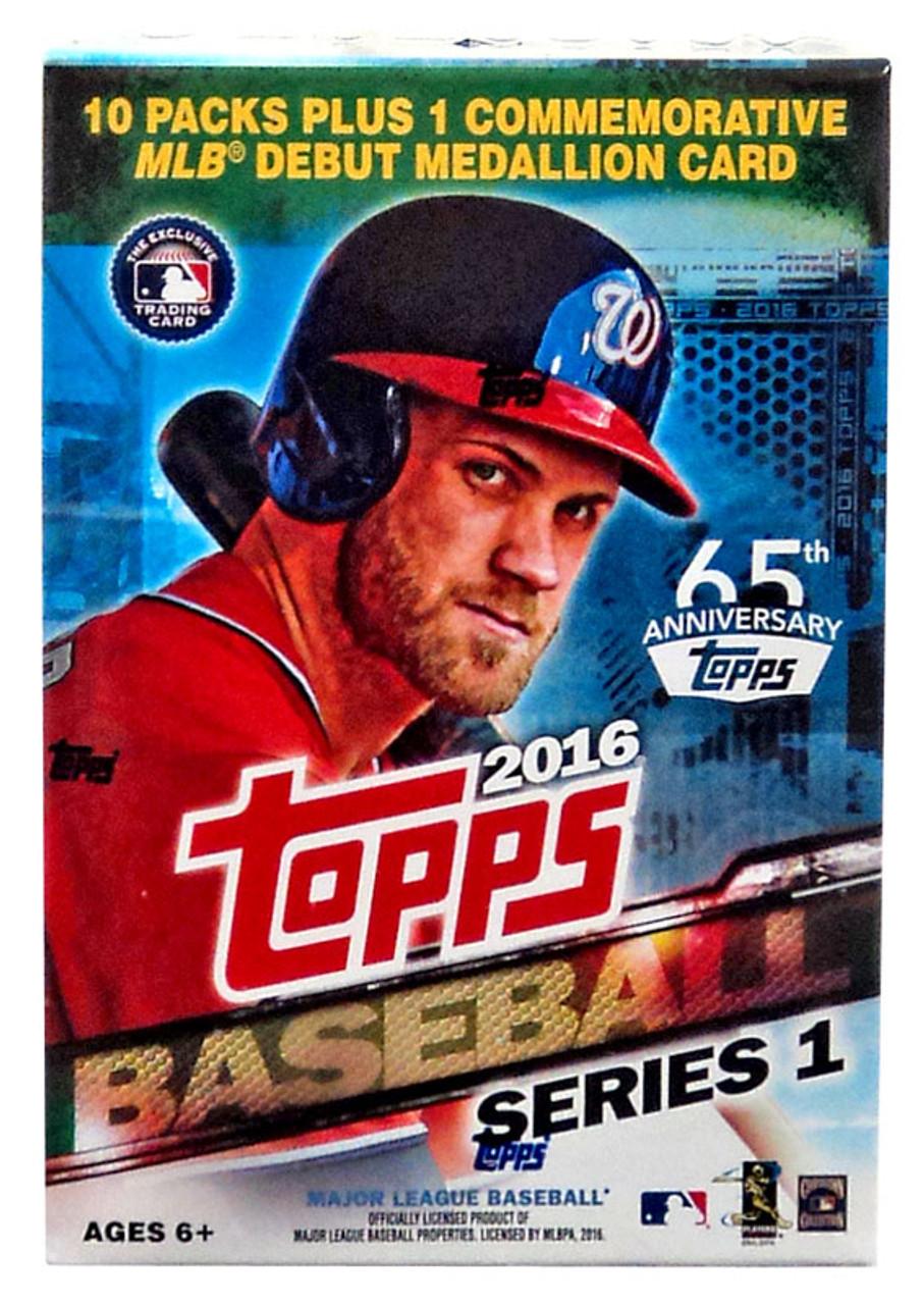 Mlb 2016 Topps Baseball Cards Series 1 Trading Card Blaster Box