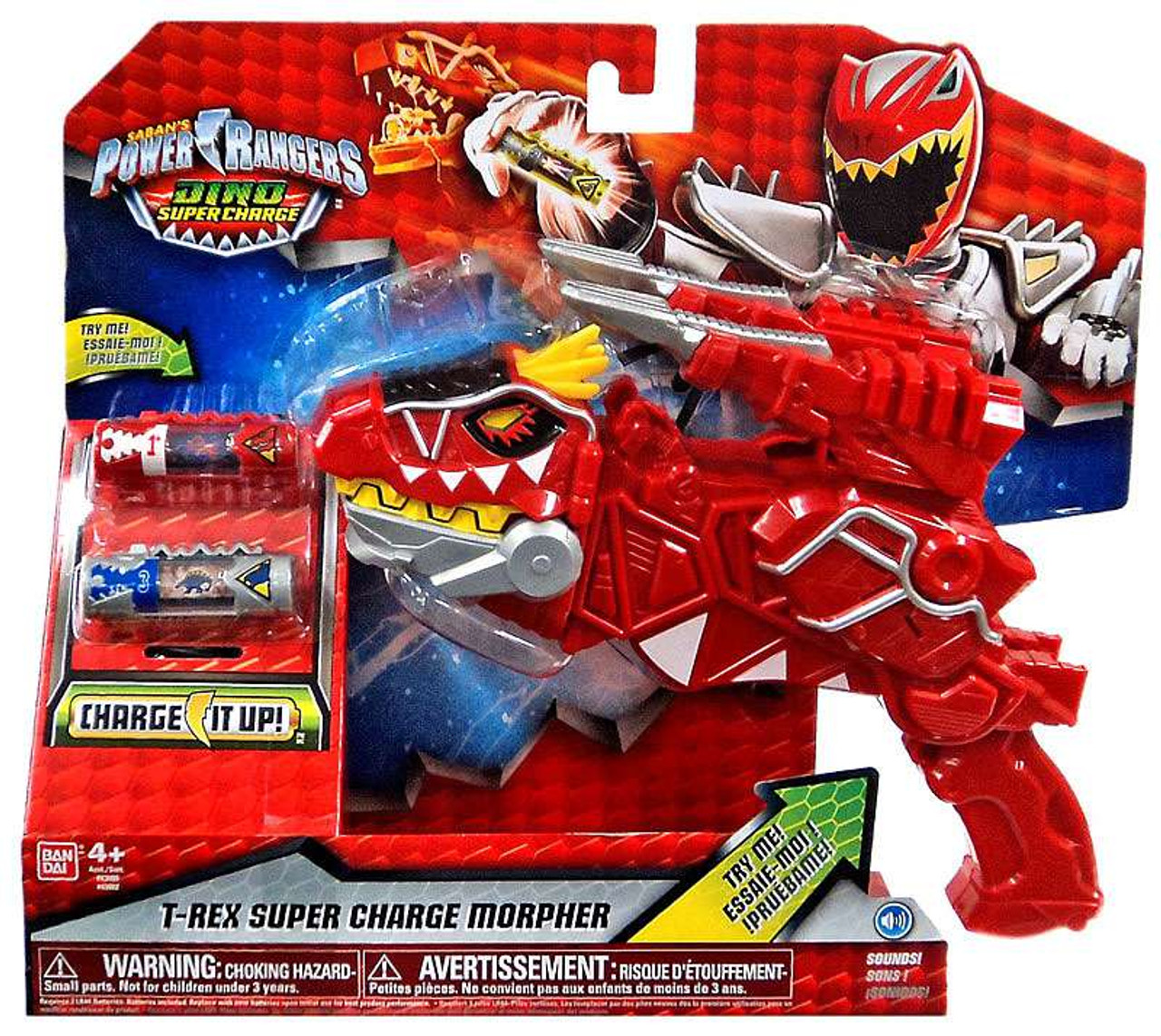 - Power Rangers Dino Super Charge T-Rex Super Charge Morpher