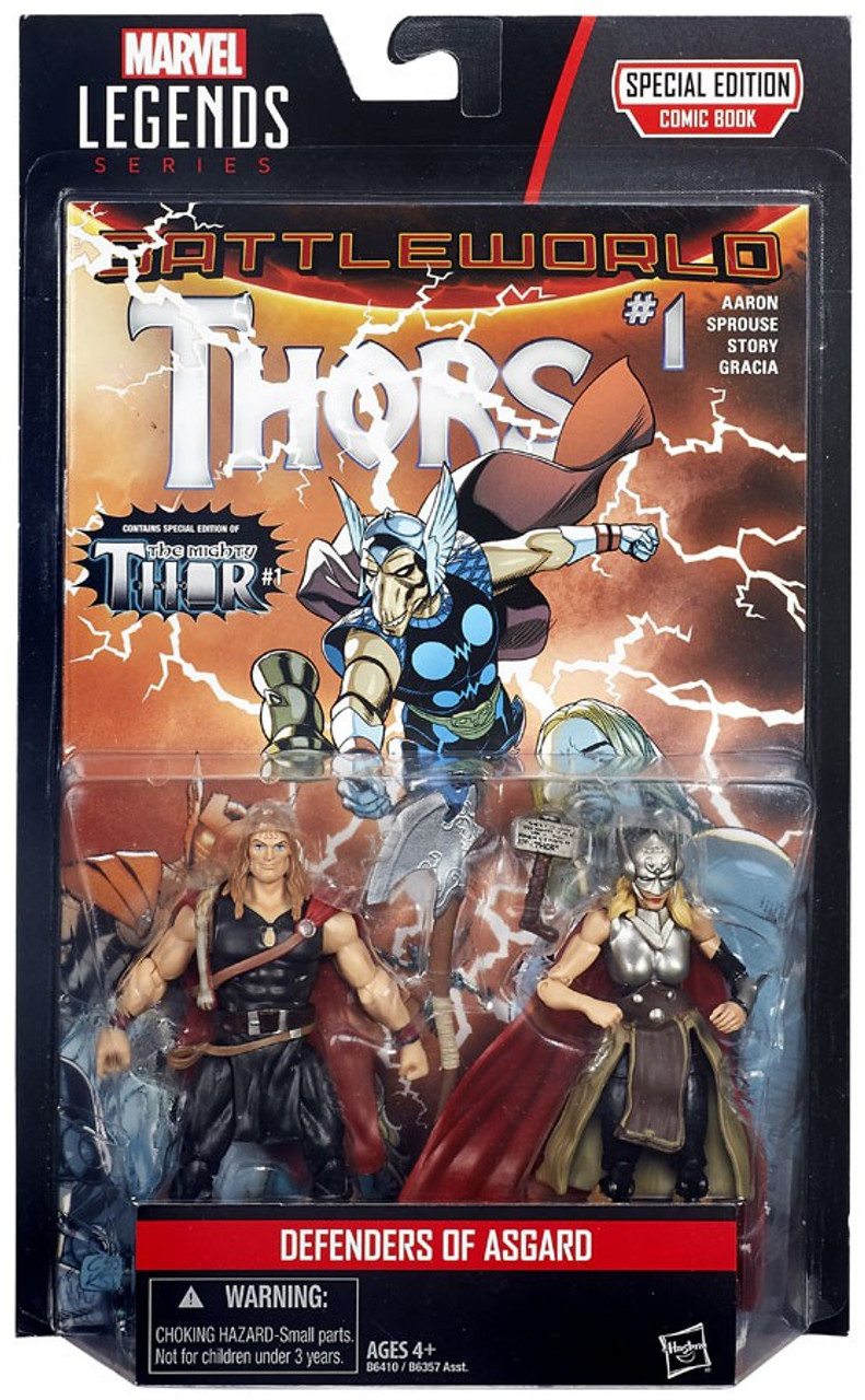 Marvel Legends DEFENDERS OF ASGARD Odinson 3.75 Complete Hasbro