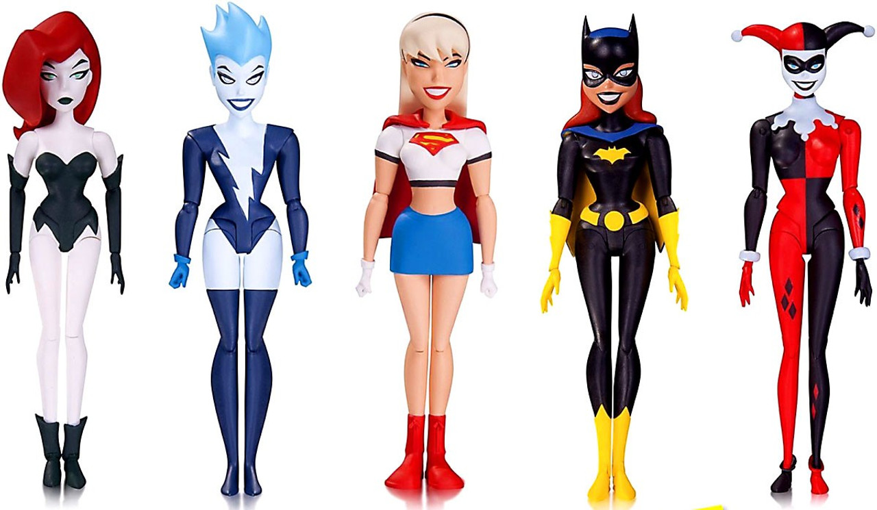 Dc The Animated Series Girls Night Out Action Figure 5 Pack Poison