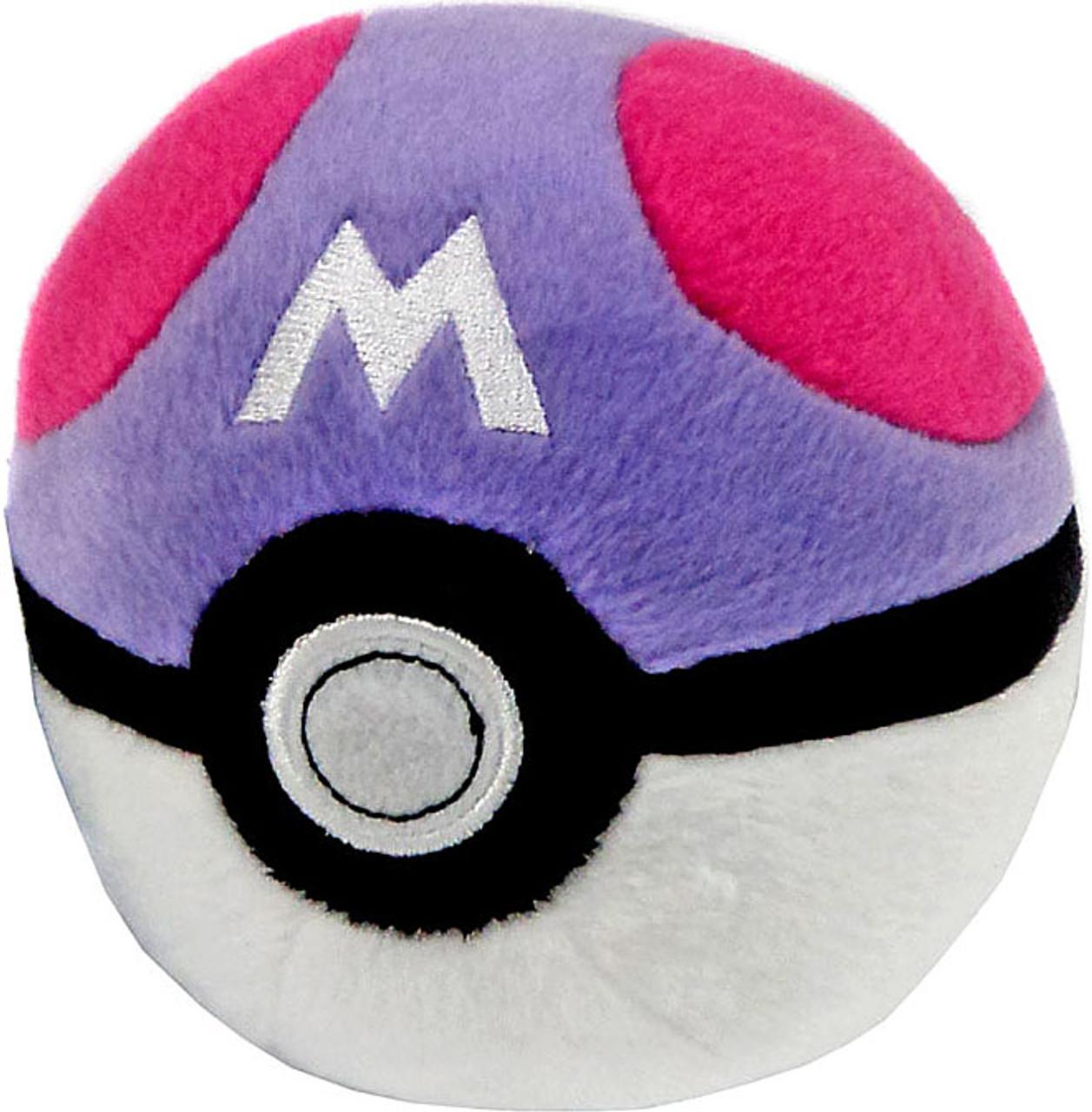 Pokemon Master Ball 5 Pokeball Plush Tomy Inc Toywiz