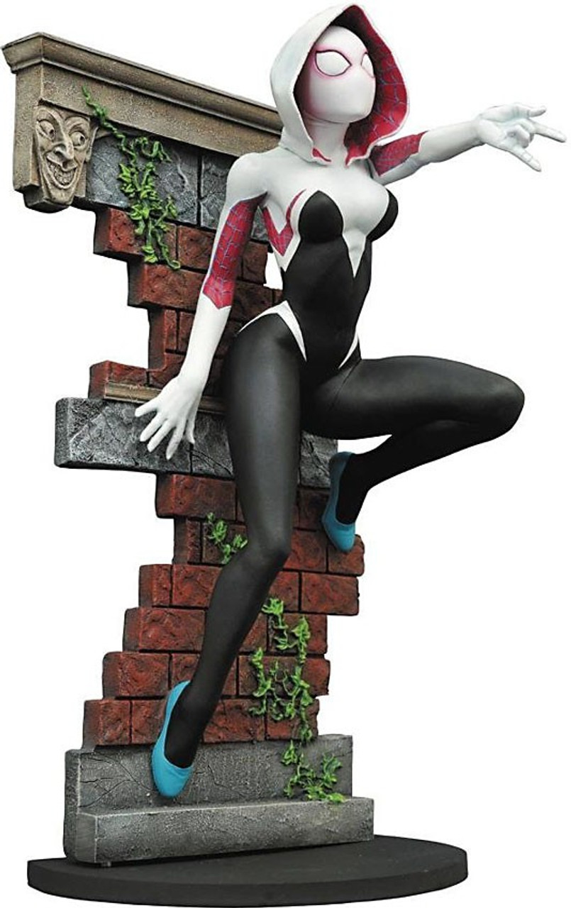 Spider-Gwen Resin Statue Diamond Select Toys Marvel Premier Collection