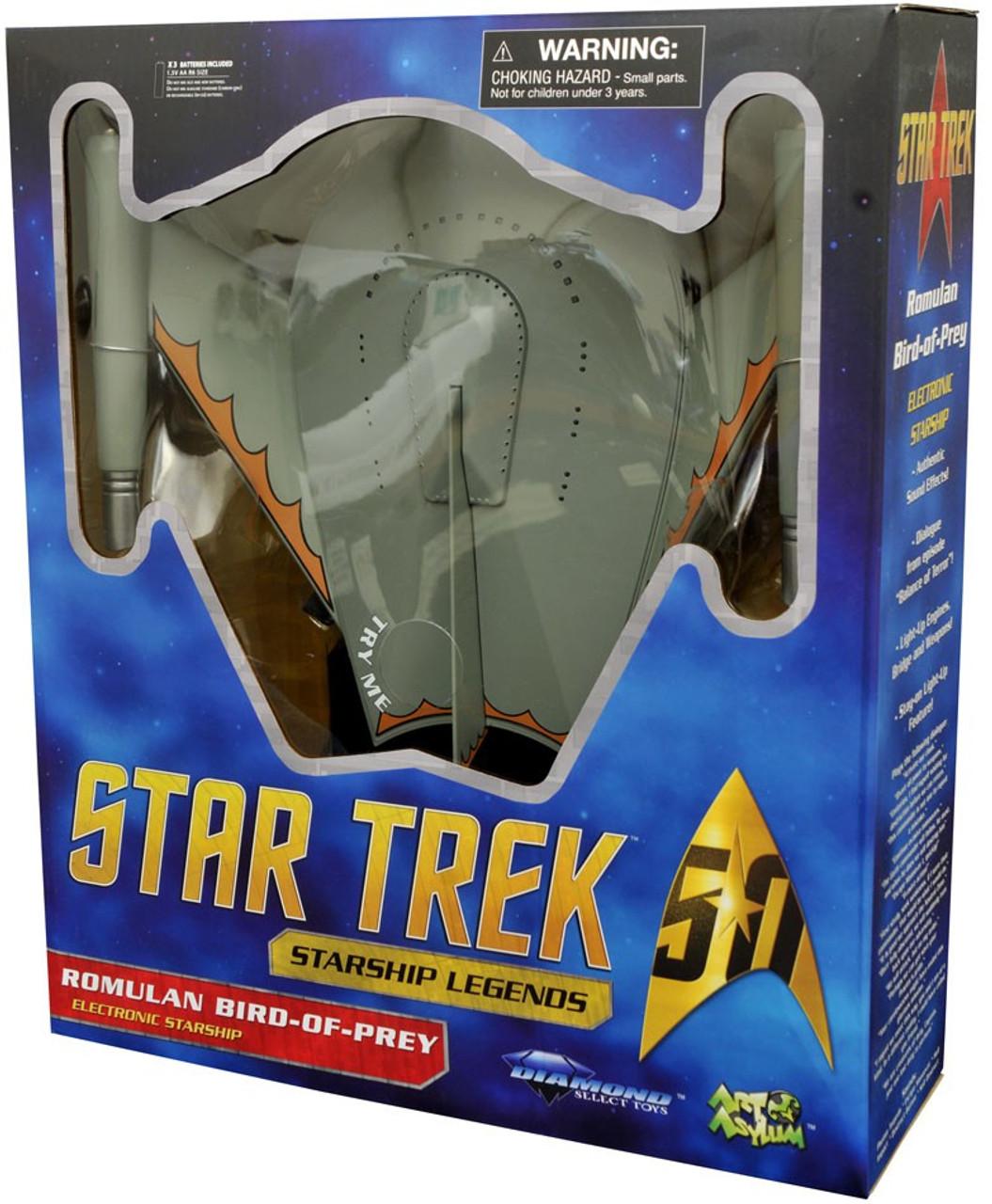 Star Trek Romulan Bird of Prey Electronic Starship
