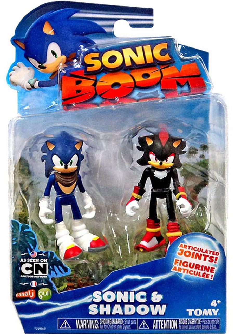 Sonic The Hedgehog Sonic Boom Sonic Shadow 3 Action Figure ...