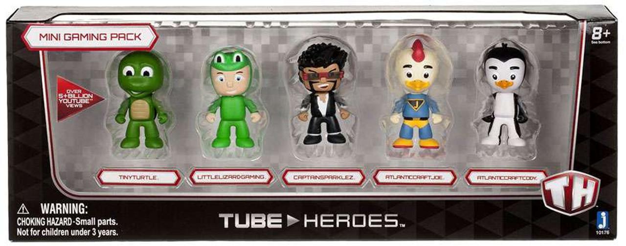 5 Pack Tube Heroes Mini Figure