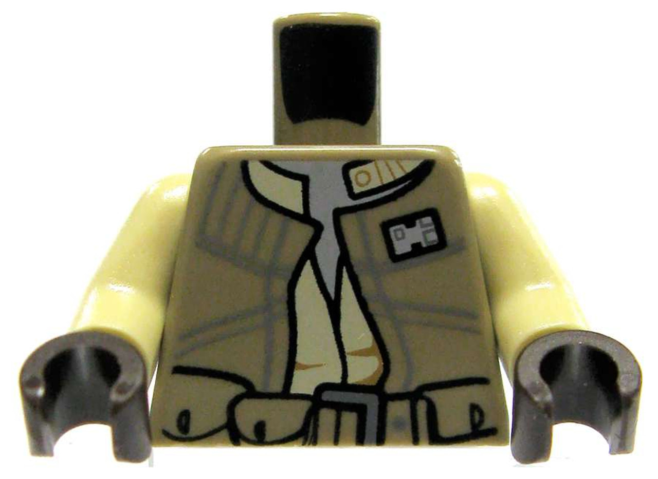 DARK TAN Arms Minifig parts Both left and right arms NEW LEGO 2 Pair