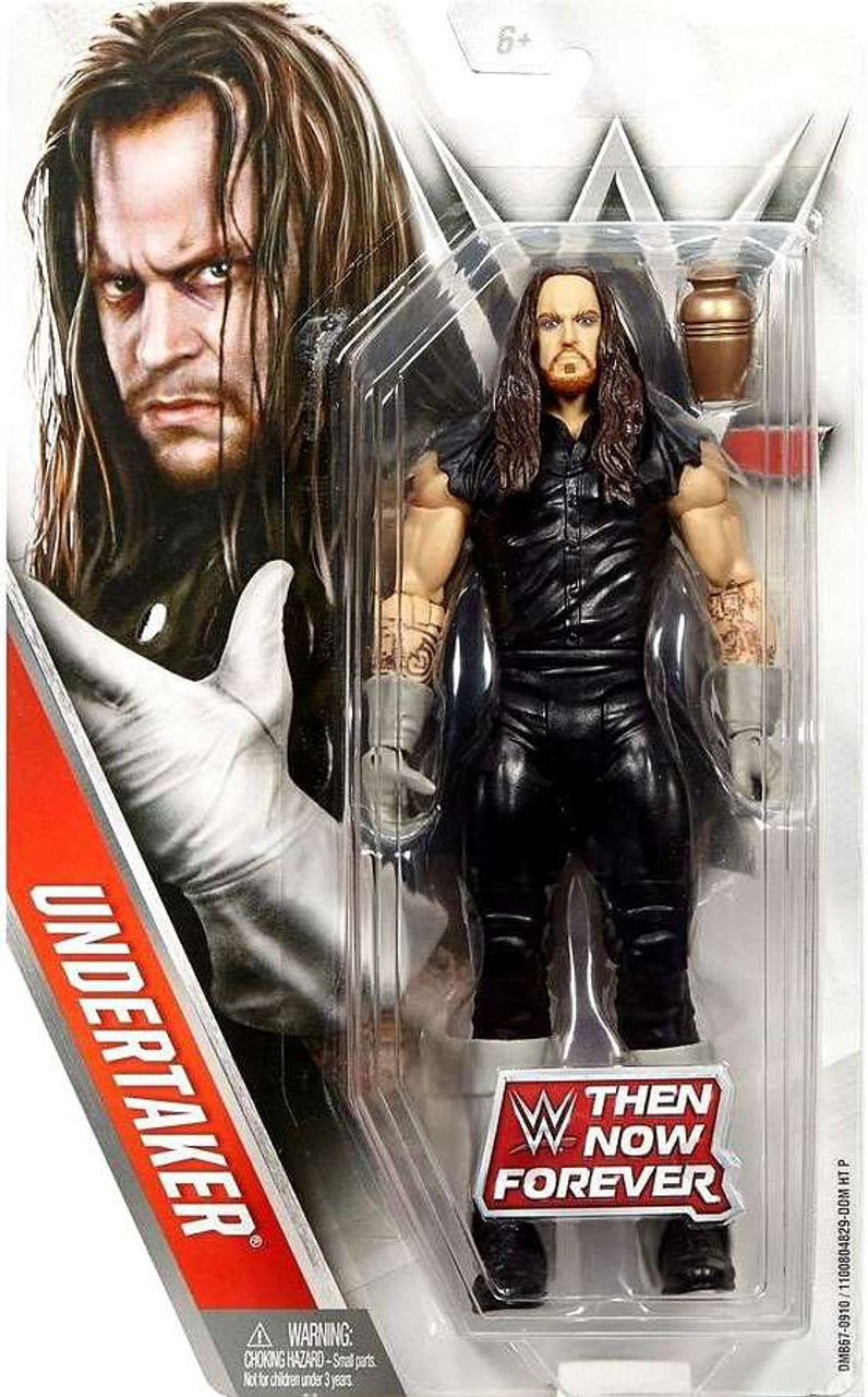 Official Mattel WWE Basic Then Now /& Forever Undertaker Action Figure