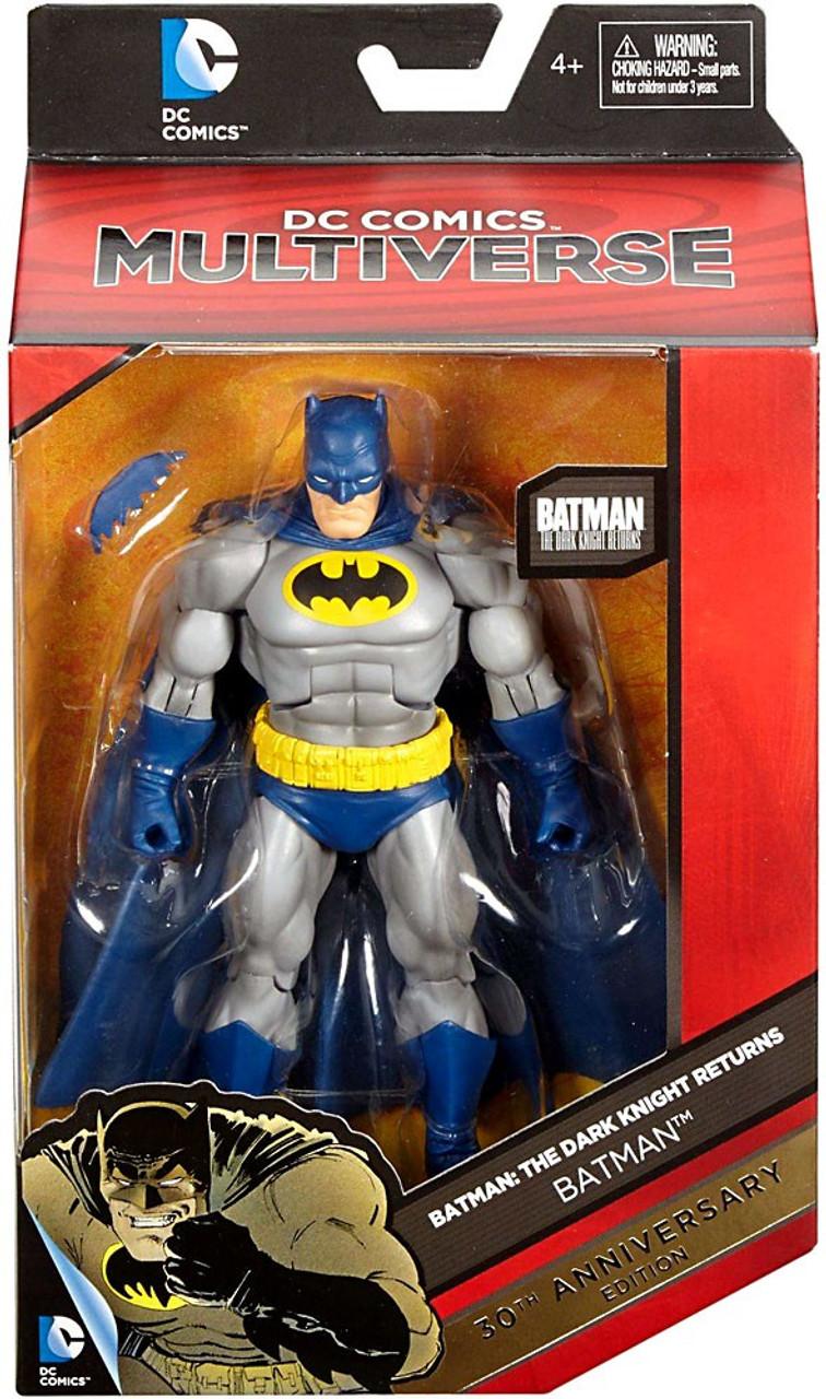 DC BATMAN THE DARK KNIGHT RETURNS SUPERMAN 30th ANNIVERSARY EDITION MATTEL