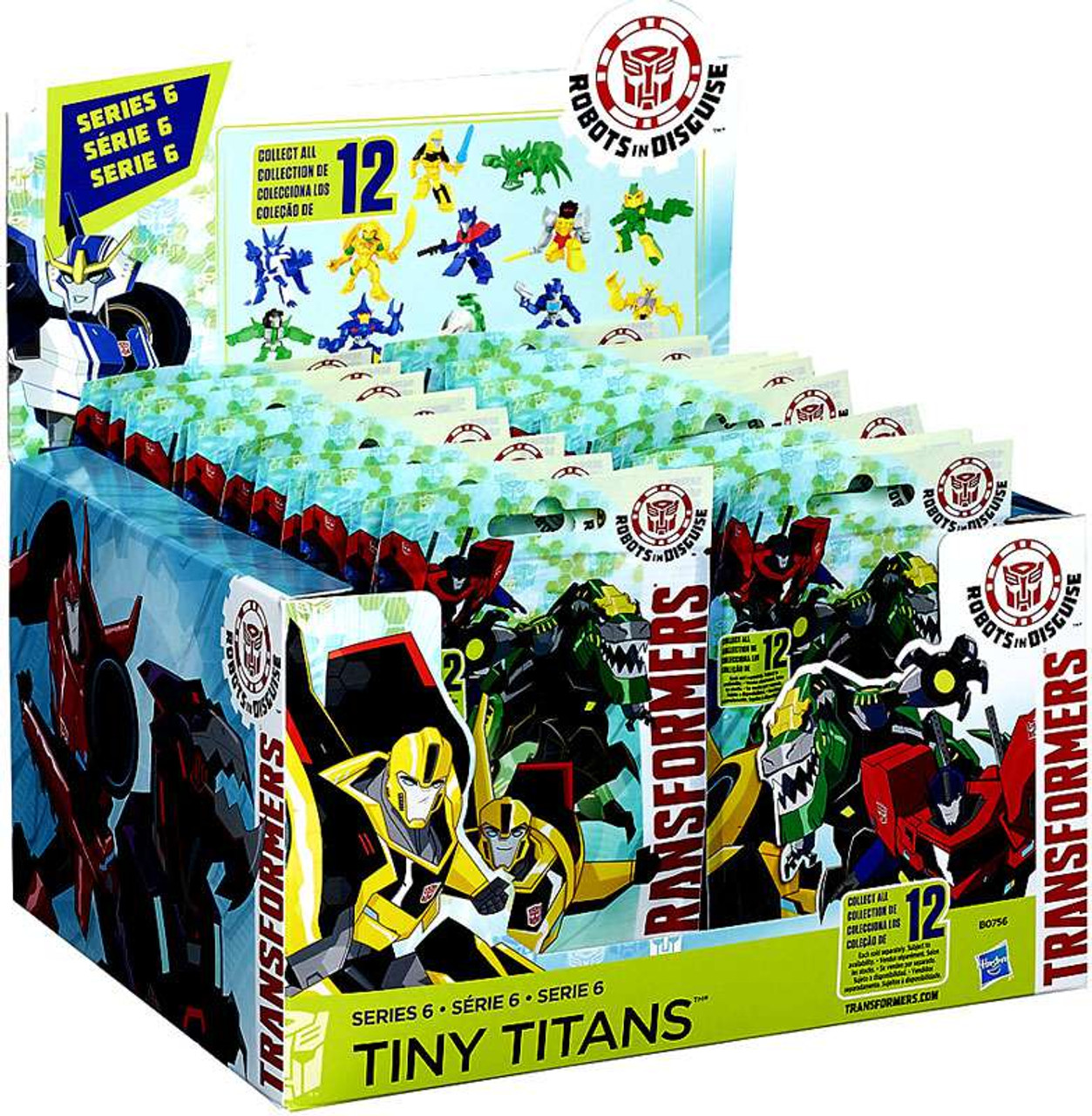 Transformers Robots in Disguise Tiny Titans Wave 6 Mini Figure Nightstrike