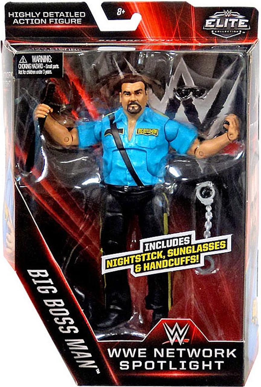 Big Boss Man WWE Mattel Elite Figure wwe Network Spotlight Sealed NEW