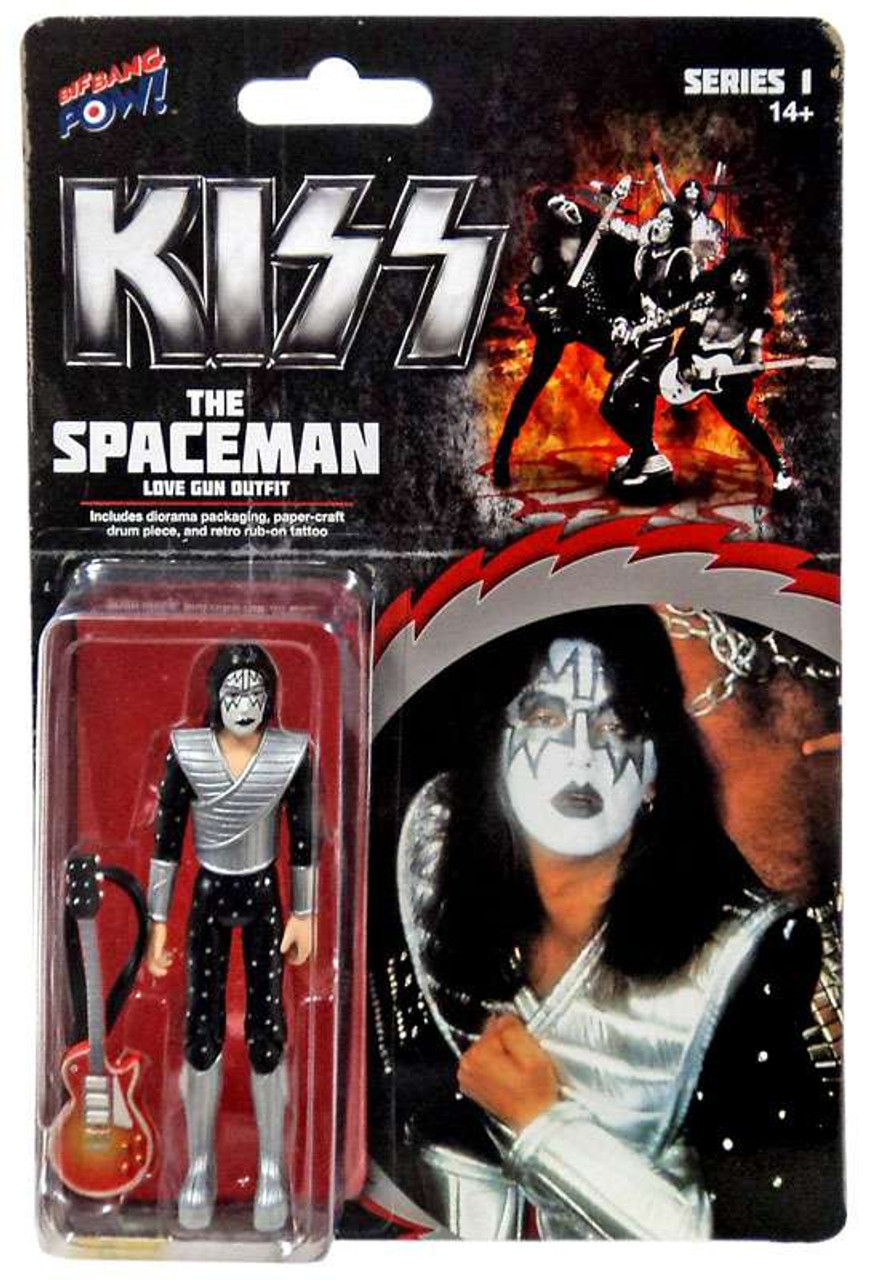 The Spaceman KISS 12 Inch Action Figures Series 9 Love Gun