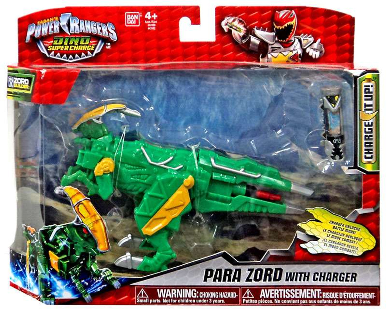 Ammonite Zord Action Figure with Charger Power Rangers Dino Super Charge