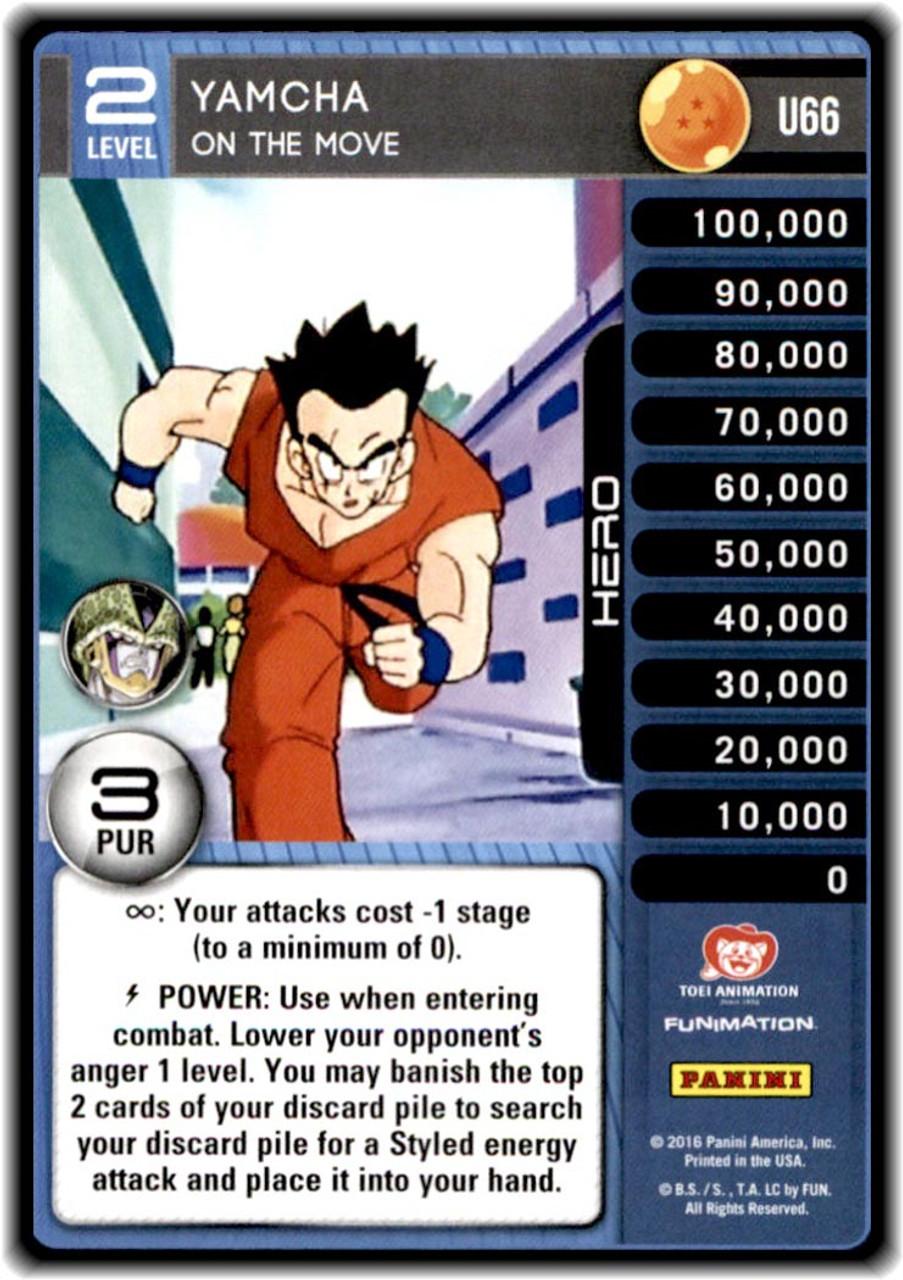Dragon Ball Z Ccg Perfection Single Card Uncommon Yamcha On The