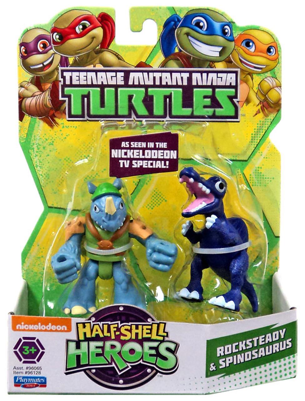 Teenage Mutant Ninja Turtles Half Shell Heroes TMNT Splinter Rocksteady Shredder