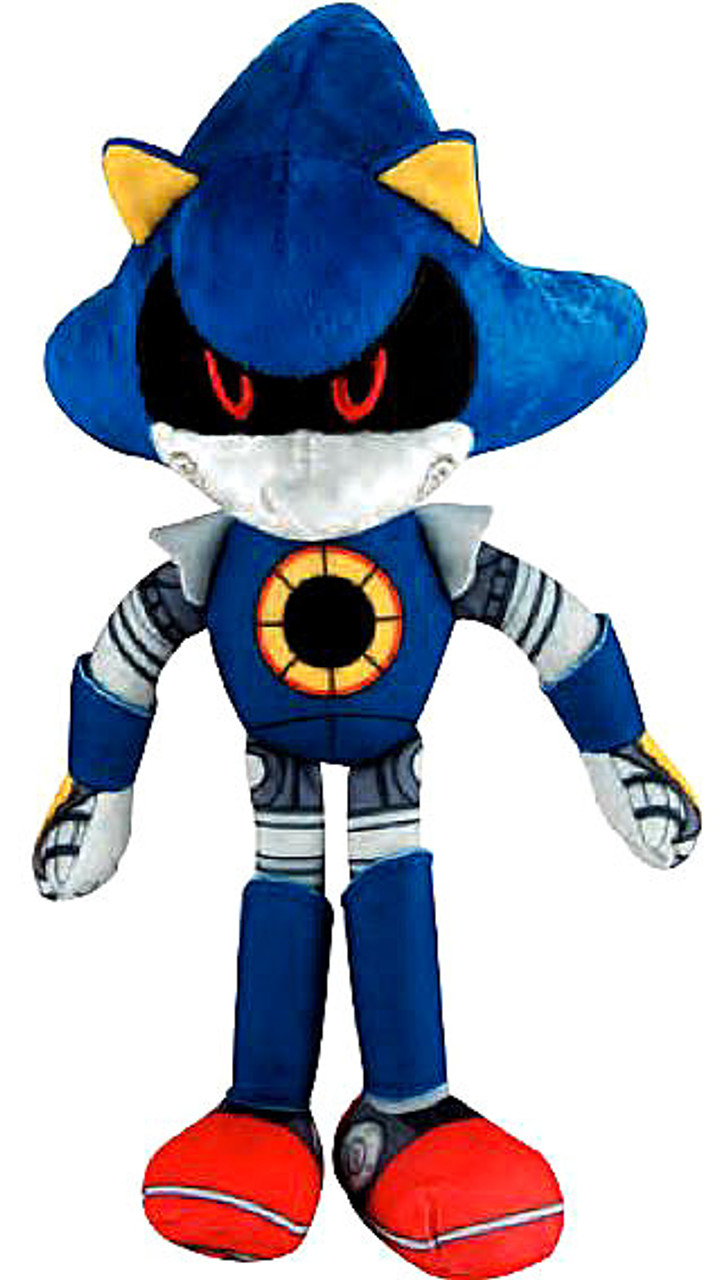 Sonic The Hedgehog Sonic Boom Metal Sonic 8 Plush Tomy Inc Toywiz