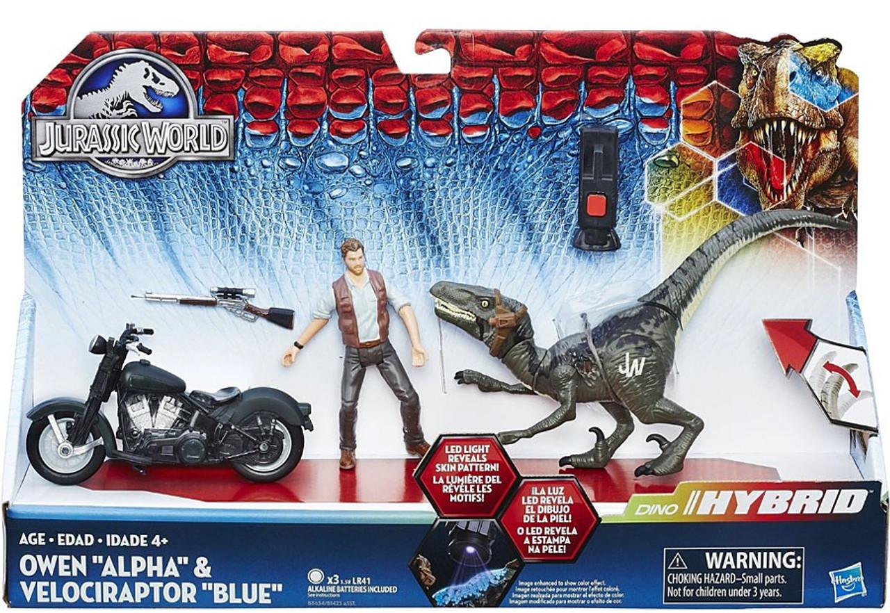 Jurassic World Owen Alpha Velociraptor Blue Capture Vehicle
