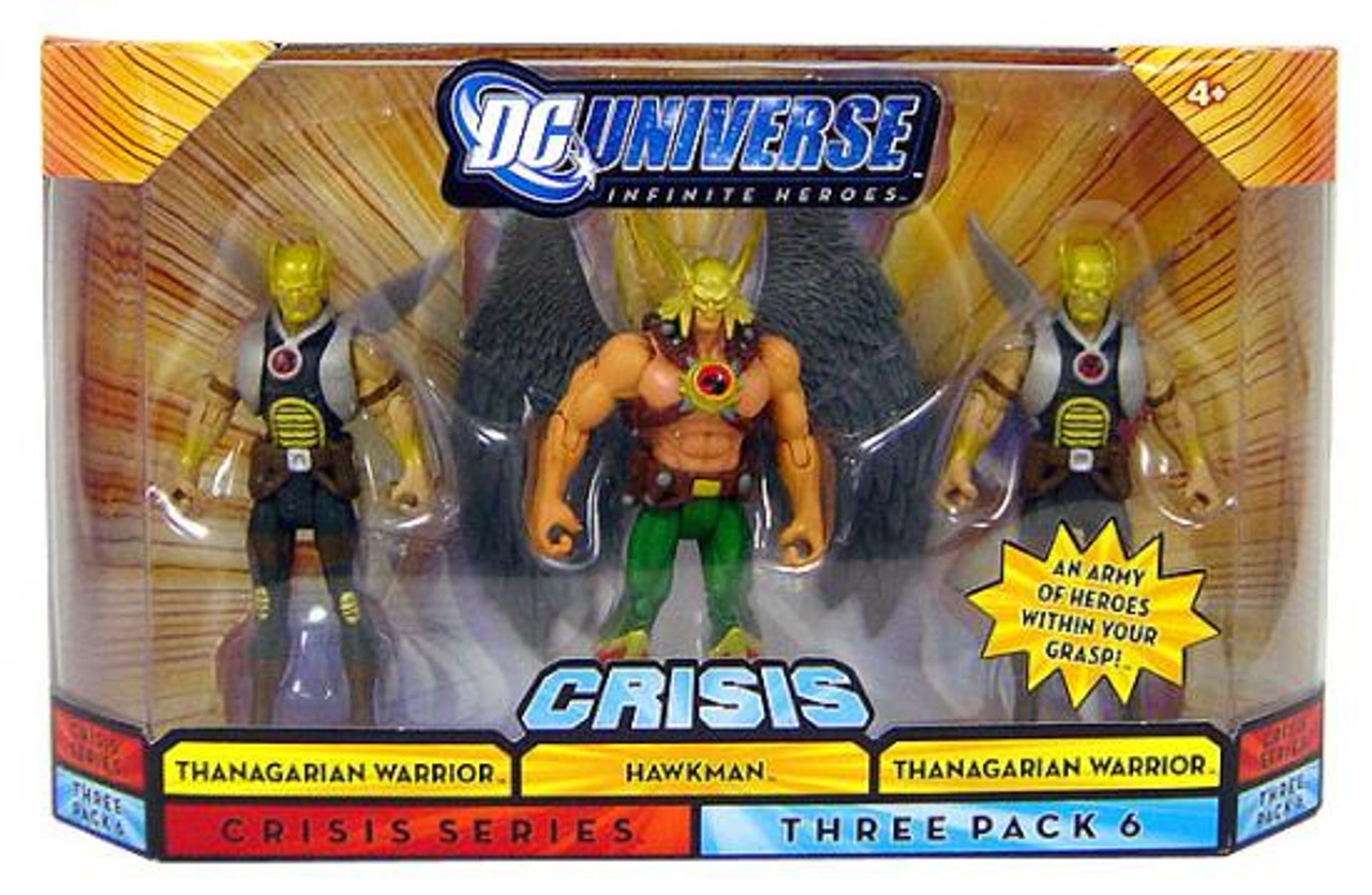 "DC Universe Infinite Heroes Miracle Warrior 3.75/"" Figurine Hawkman"