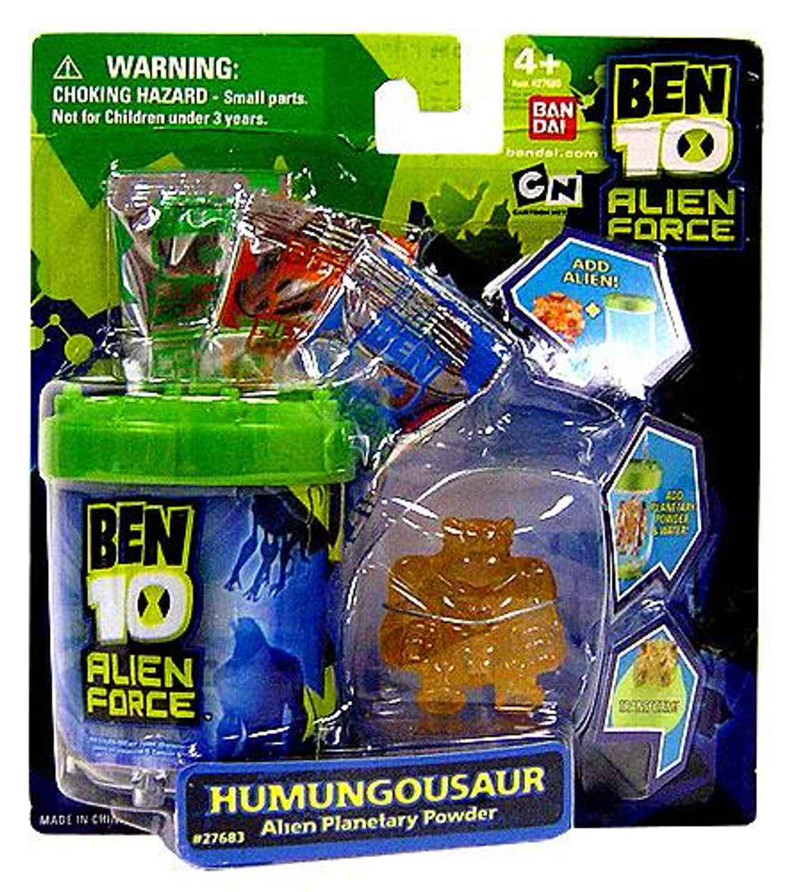 Ben 10 Alien Force Series 2 Keychain Humungousaur