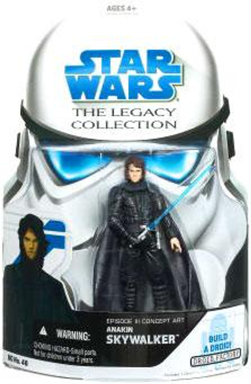 Star Wars Revenge Of The Sith Legacy Collection 2007 Droid Factory Anakin Skywalker Action Figure Evolution Hasbro Toys Toywiz
