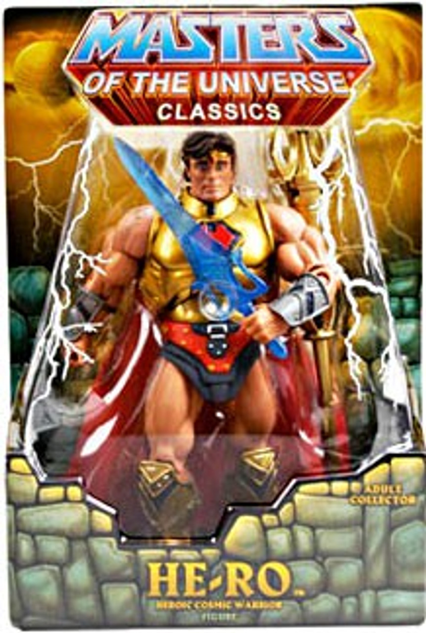 Classics Club Eternia He-Ro Action Figure Random Stone, SDCC 2009